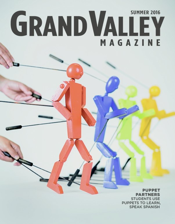 Cover issue, featuring rod puppets